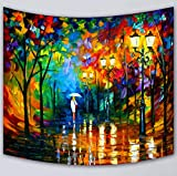 Grsafety Oil Painting Tapestry, Bedroom Tarpaulin - textile printing traditional wall hanging wall decoration table sofa set picnic blanket curtain