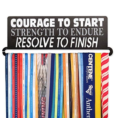Gone For a Run | Runner's Race Medal Hanger | Courage To Start ()