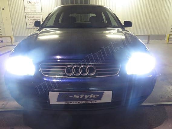 Kit Bombillas de faros LED de H7 alta performance para Audi A3 8L: Amazon.es: Coche y moto