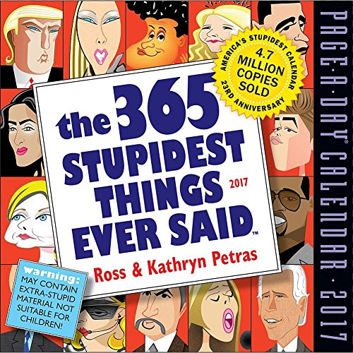 Stupidest Things 2017 Page Calendar product image