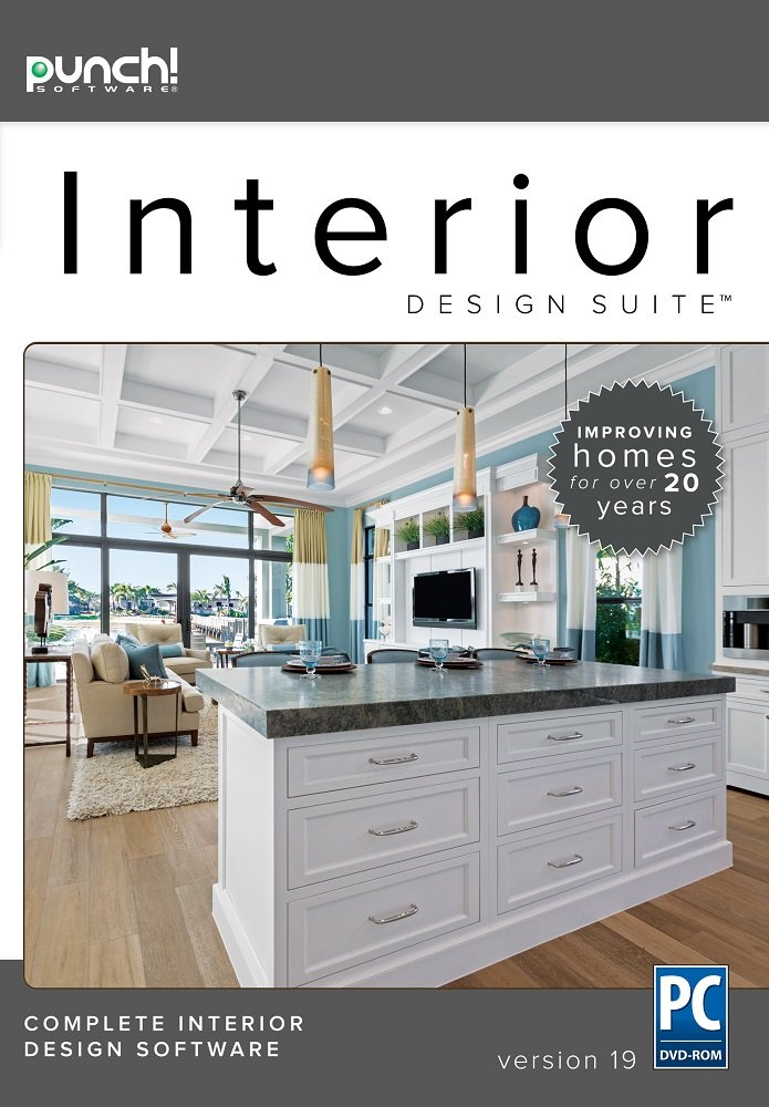 Punch! Interior Design Suite V19   The Best Selling Interior Home Design  Software For Windows PC ...