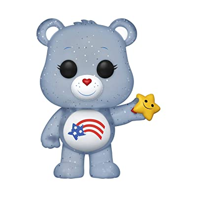 Funko POP! Animation: Care Bears - America Cares Bear (Exclusive): Toys & Games [5Bkhe1801626]