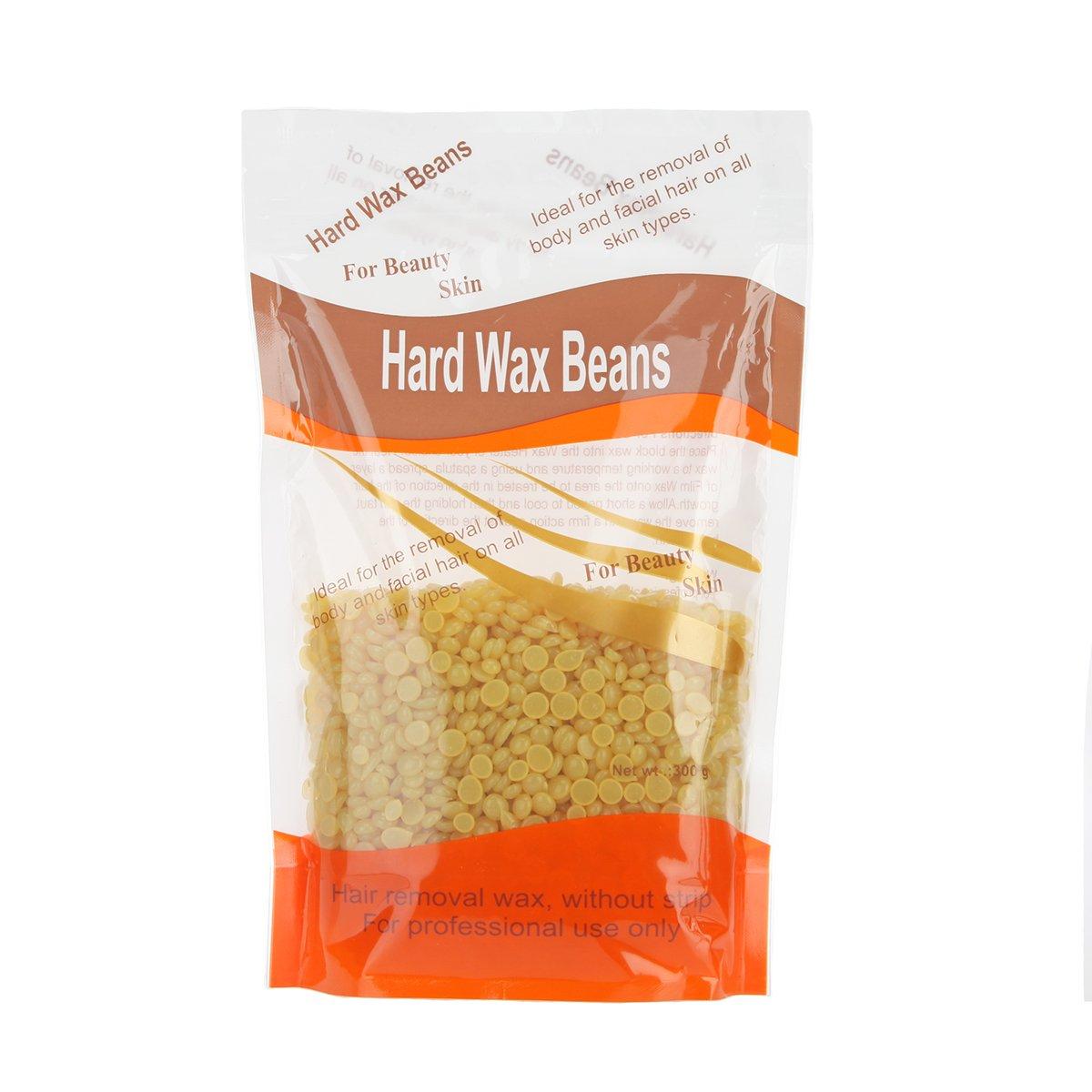 Bonjanvye Hard Wax Hair Removal Wax For Women Face Hair Wax Hard Wax Beans 300g Violet