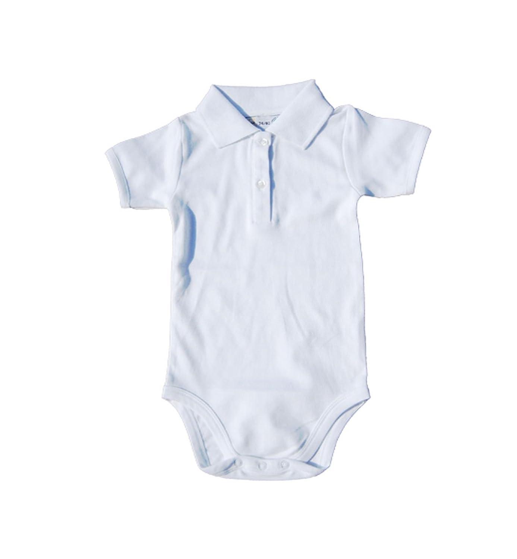 Underwear Kurzarm Baby Body Mit Polo Kragen Bio Baumwolle Kurzärmlicher Bodysuit