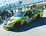 AUTOGRAPHED 2015 Matt Kenseth #20 Dollar General Racing (Garage Area Practice) Roush 8X10 Signed Picture NASCAR Glossy Photo with COA