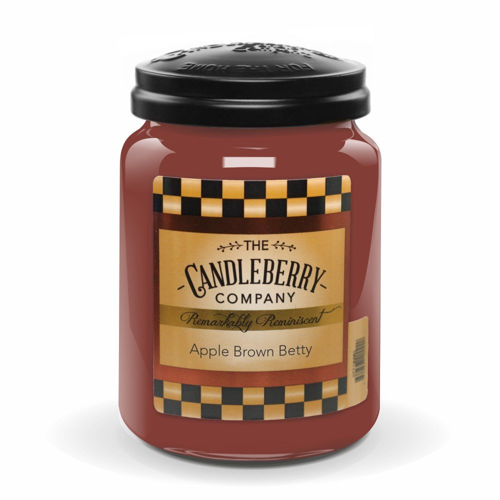 Candleberry Apple Brown Betty 26oz. Jar by Candleberry
