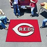 Fan Mats 6476 MLB - Cincinnati Reds 5' x 6' Tailgater Mat / Area Rug
