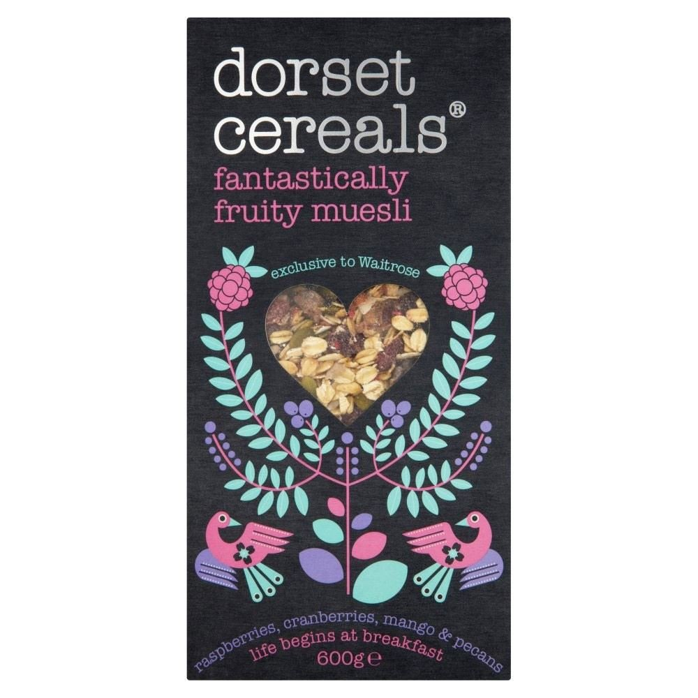 Dorset Cereals Fantastically Fruity Muesli (600g) - Pack of 2