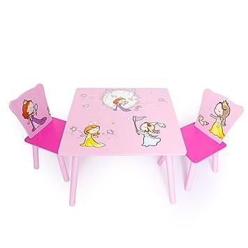 Homestyle4u 1113 Kindersitzgruppe Prinzessin Kindermobel Set Aus 1
