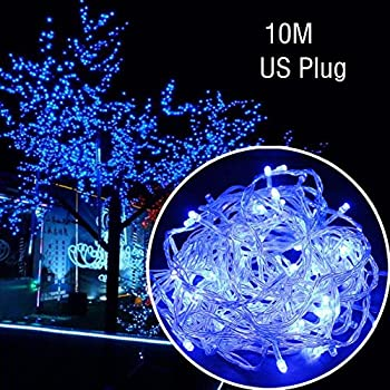 lilys gift led string lights with 33ft 100led 8 modes irregular firefly starry string light for - Firefly Christmas Lights