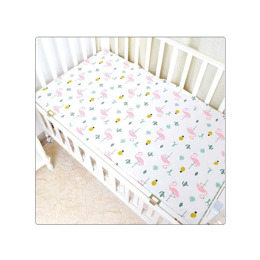 Amazon.com : Baby Bed Sheet Crib Sheet Cartoon Animal Printed Colchon Toddler Cot Cover : Baby