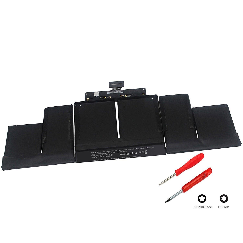 Bateria 11.26v 95wh Para Macbook Pro 15 A1494 A1398 Late 2013 Mid2014 Me293 Me294-12