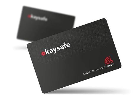 kaysafe Tarjeta de Seguridad RFID delgada con protección ...
