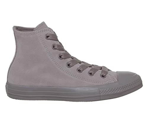bb9f3d2414d Converse Adults  Chuck Taylor All Star Hi-Top Trainers Mercury Grey 045 3 UK