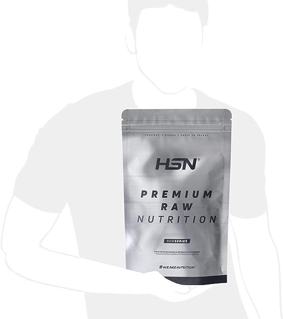 Creatina Monohidrato Micronizada en Polvo de HSN   Aumenta tu Rendimiento Deportivo, tu Energía y tu Masa Muscular, Retrasa la fatiga   Vegano, Sin ...