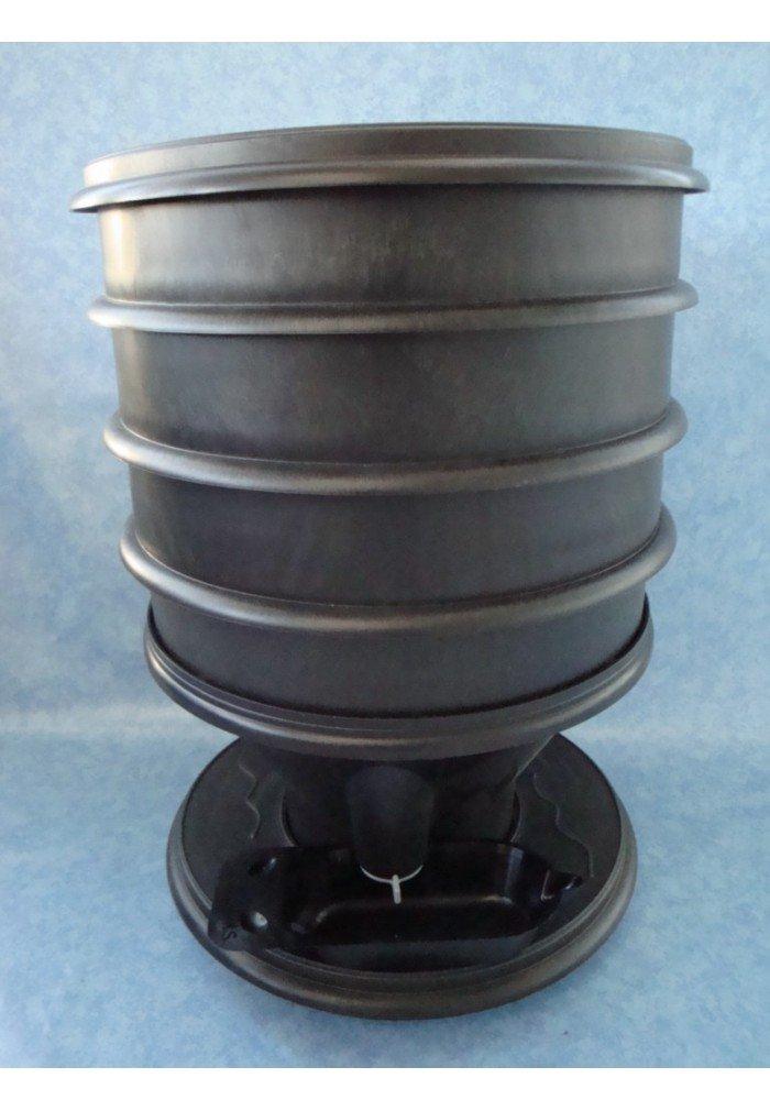 Eco-Worms - Lombricomposteur coloris noir LC400