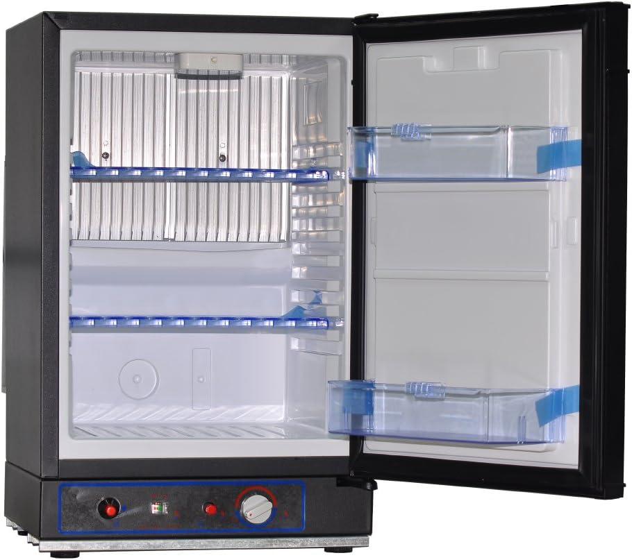 Smad Small Propane Fridge 3 Way Refrigerator for RV Outdoor Camper
