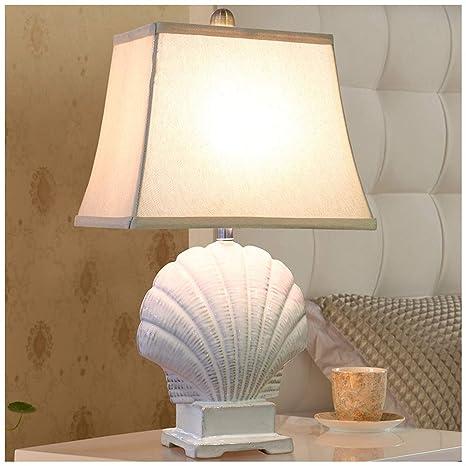 HW.Q Lámpara de mesa, Lámpara de mesa de cerámica europea ...