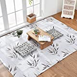 Japanese Style Tatami Rugs - MeMoreCool 100% Cotton Fresh Feelings Healthy Home Living Decor Anti-slipping Carpets Living Room Bedroom Crawling Mats