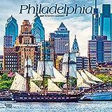 Philadelphia 2021 12 x 12 Inch Monthly Square Wall Calendar, USA United States of America Pennsylvania Northeast City