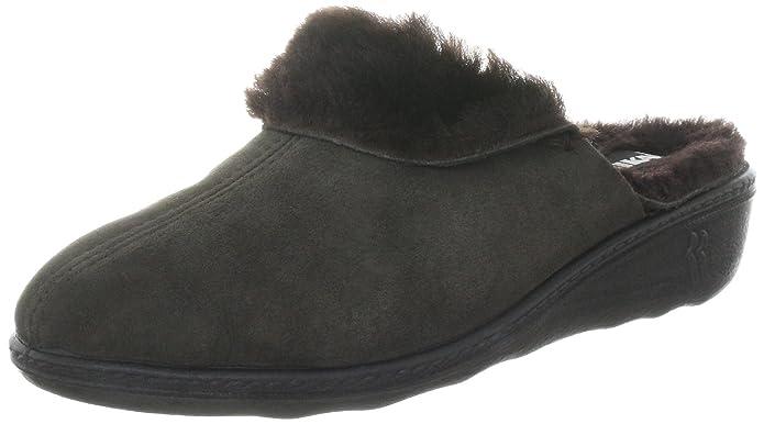 Romika Romillastic 306 60002 - Zapatillas de casa para mujer, color gris, talla 42
