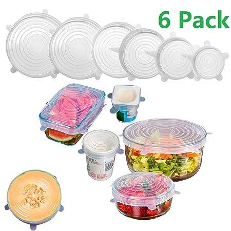 eacolids silicona tapas y cubiertas de plato de microondas - Set ...