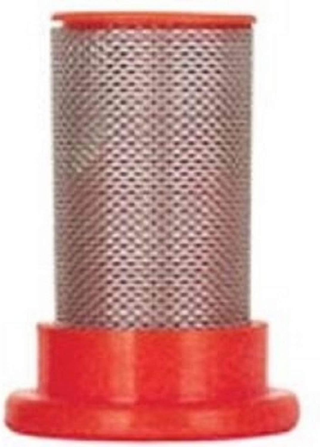 Valley Industries NS-50-CSK 50 Mesh Replacement Broadcast Sprayer Nozzle Strainer-50 4 Pack Red