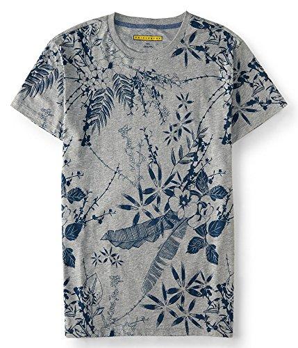 aeropostale-mens-prince-fox-floral-tee-shirt-m-light-heather-grey