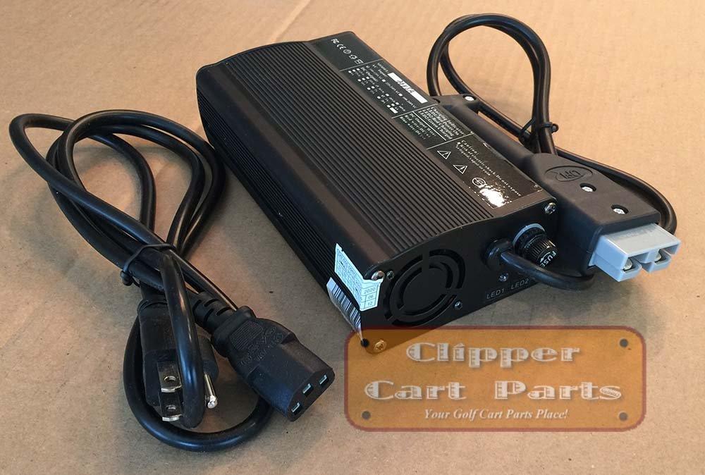 EZGO Battery Charger 36 Volt Golf Cart Charger - SB50 Plug for Pre-1995 EZ-GO - Newest Model