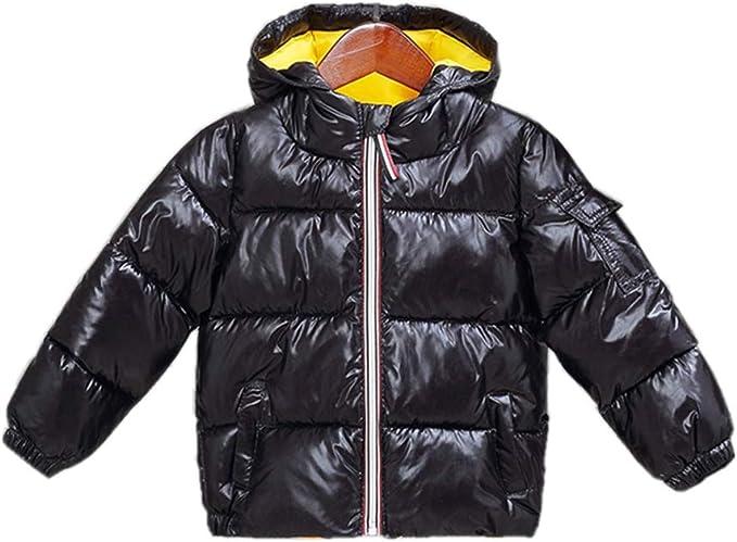 Kids Boys Girl Toddler Quilted Jacket Outerwear Puffer Winter Coat Zip Snowsuit