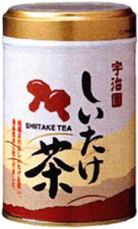宇治園 しいたけ茶(缶) 50g×12個