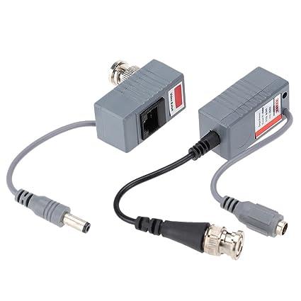 CCTV KKmoon cámara vídeo BNC Balun transmisor UTP-Cable de red RJ45 cat. 5