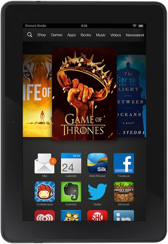 Amazon Com Kindle Fire Hdx 7 Hdx Display Wi Fi 16 Gb Includes Special Offers Previous Generation 3rd Kindle Store