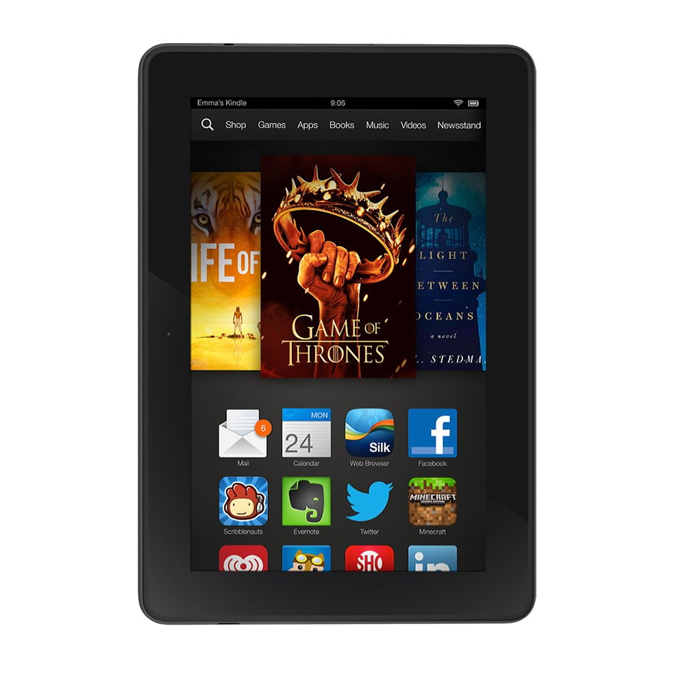 amazon com kindle fire hdx 7 hdx display wi fi 16 gb includes