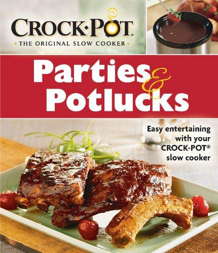 Download Crock-Pot: Parties & Potlucks Cookbook PDF ePub book