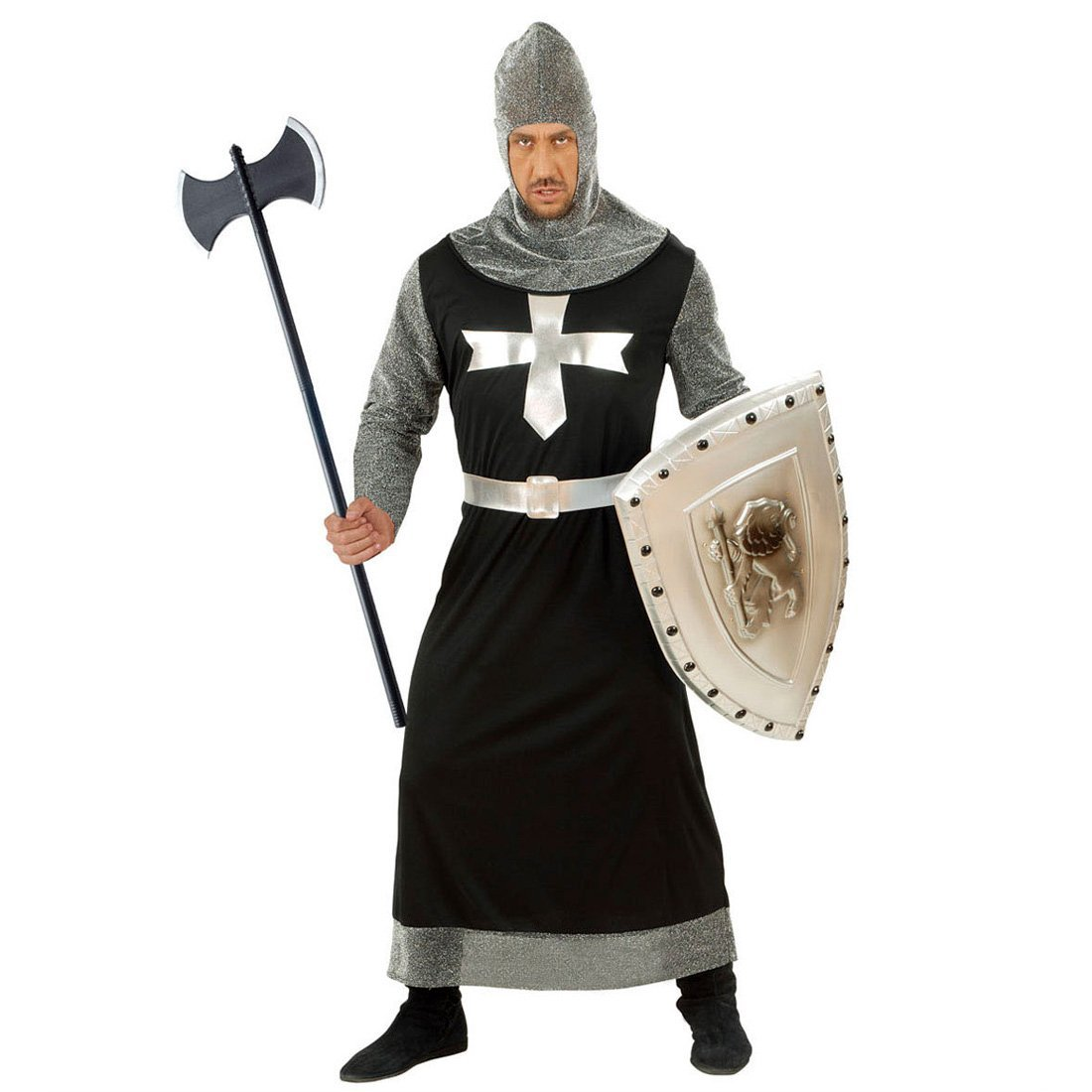 NET TOYS Longue hache double Faucheuse Moyen-/âge hache bourreau hache de chevalier hache de bourreau d/éguisement accessoire chevalier carnaval