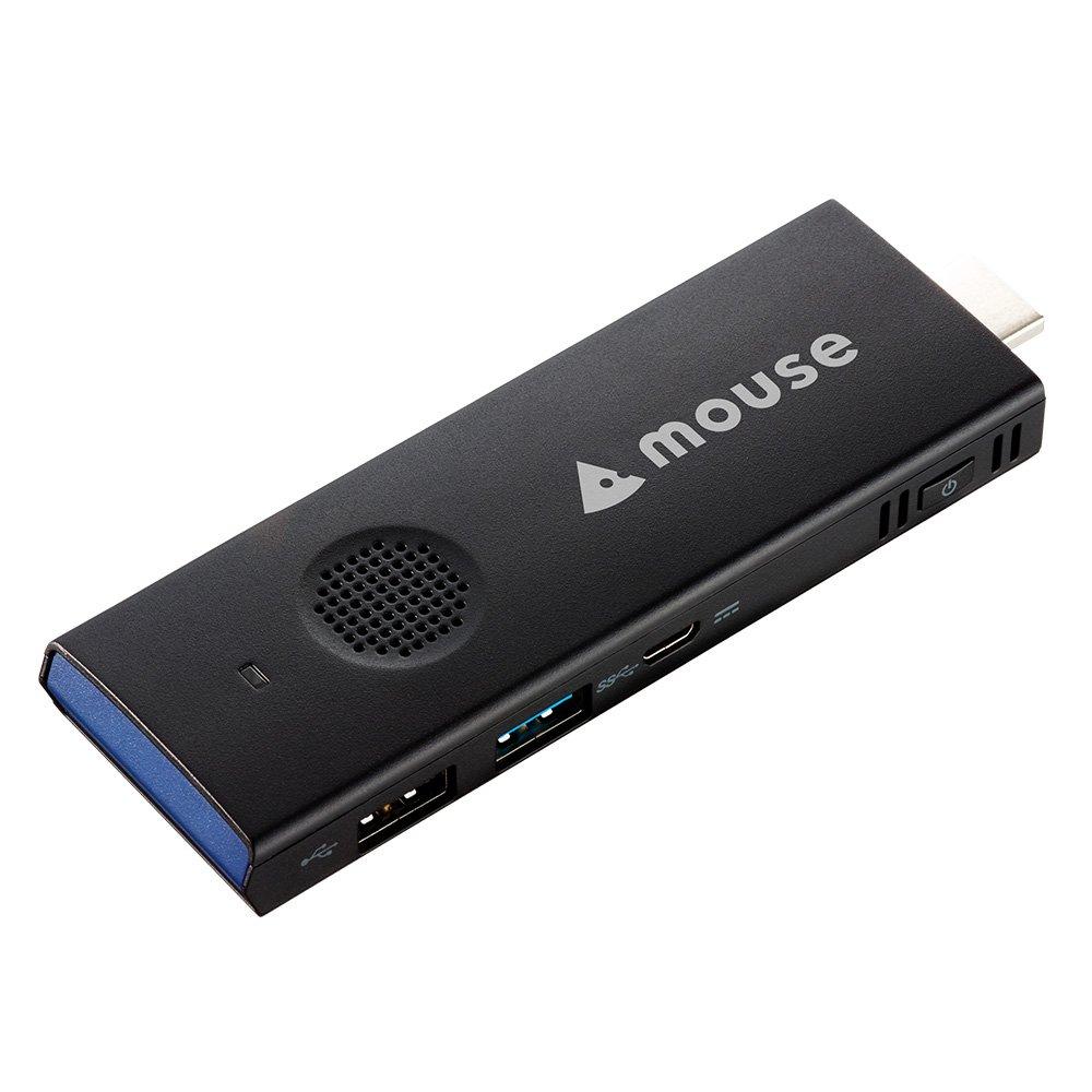 mouse スティックPC パソコン MS-CH01FV2 Windows10/2GB/32G/冷却ファン
