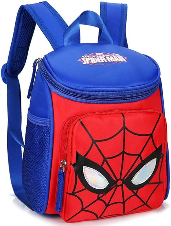 Mochila Escolar Para Niños Adolescentes Ligeros Mochilas Spider-Man Para Niños Y Niñas Bolsas Escolares De 1-3 Años