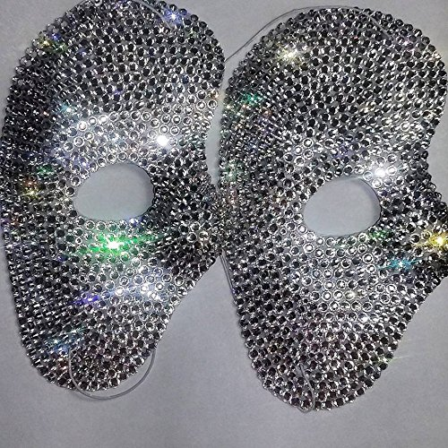 [Custom Carnival Mask Made With Swarovski Elements] (Custom Phantom Of The Opera Costumes)