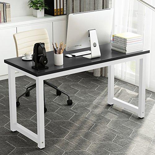 Black Metal Workstation Desk (55