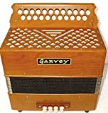 Garvey TAM 2 23 Button Bass Accordion (Key of B/C) - Tipo A Mano Reeds - Includes Shoulder Straps