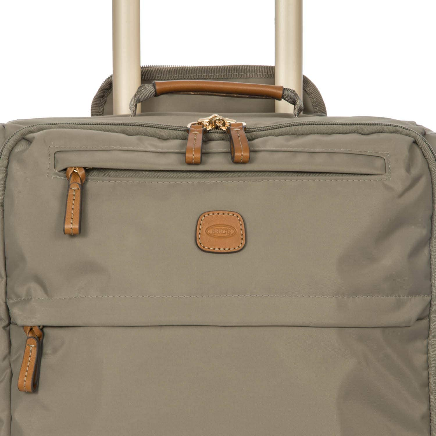 Brics X-Bag//x-Travel 21 Inch International Carry On Spinner W//Frame Dove Grey