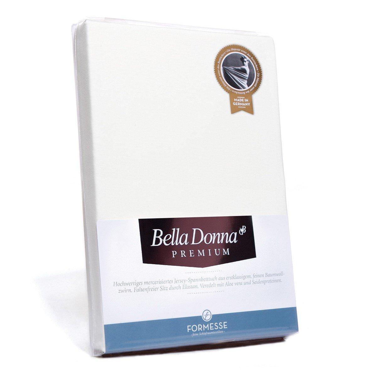 Formesse Spannbettlaken Bella Damenschuhe Premium weiss 180 200 - 200 220 cm
