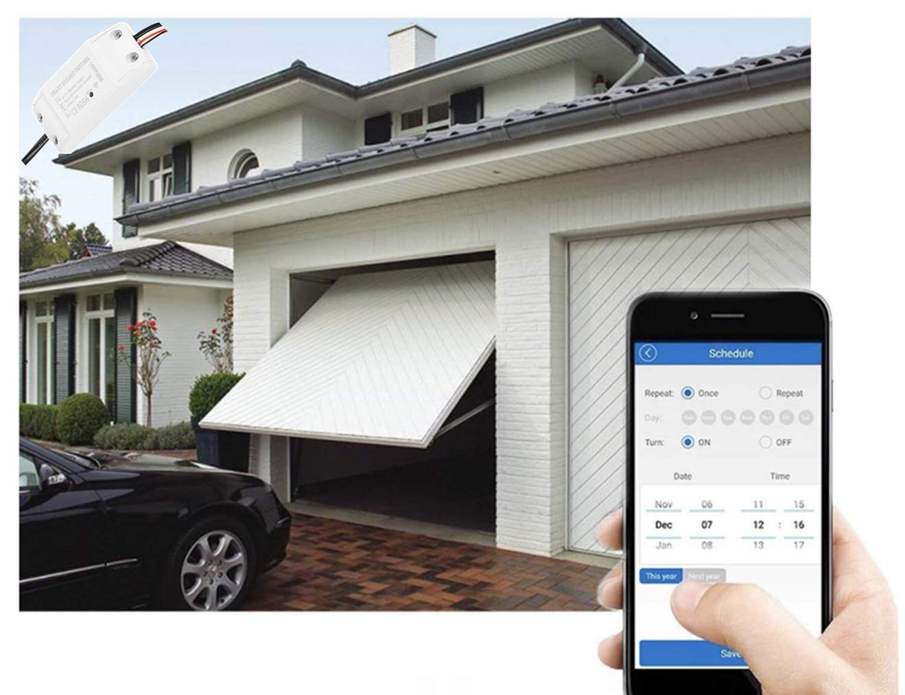 Garage Door Controller Wire Diagrams Easy Simple Detail Ideas General