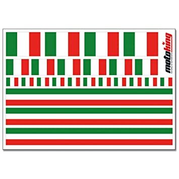 Flaggenaufkleber Italien 24 Aufkleber Für Auto Boot