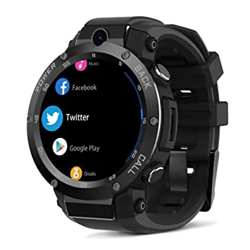 332PageAnn 3G GPS Reloj Inteligente Hombre, Bluetooth ...