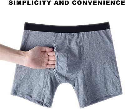 Bóxers Hombre Calzoncillos Algodón Interior Underwear Multicolor, Pack de 4 Multicolor: Amazon.es: Ropa y accesorios