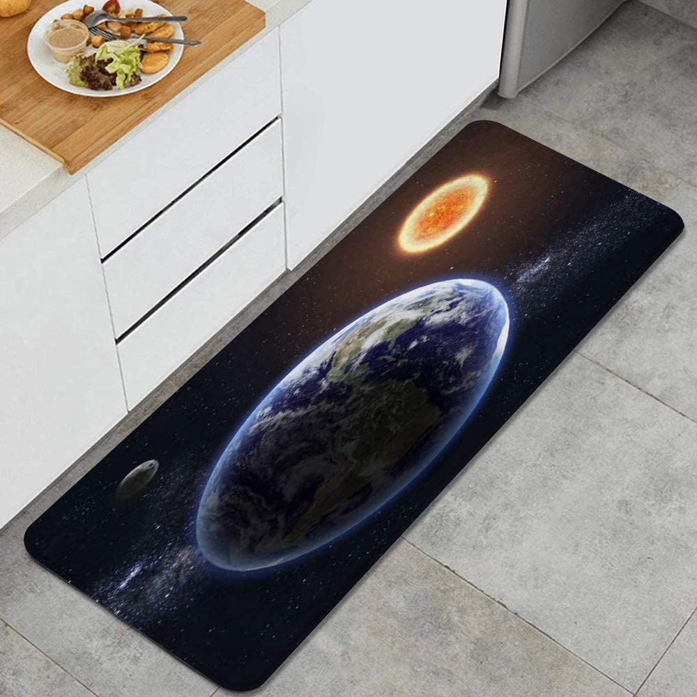 Amazon Com Migaga Kitchen Rug Climate Cloud Earth Sun World Ozone Science Abstract Sunbeams Horizon Non Slip Kitchen Mat Rubber Backing Doormat Runner Rug Set And Bedroom Hallway Laundry Room Rugs Kitchen Dining