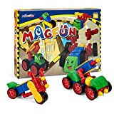 Magfun 50 Pcs 3D Magnetic Building Blocks Helps Build Intelligence