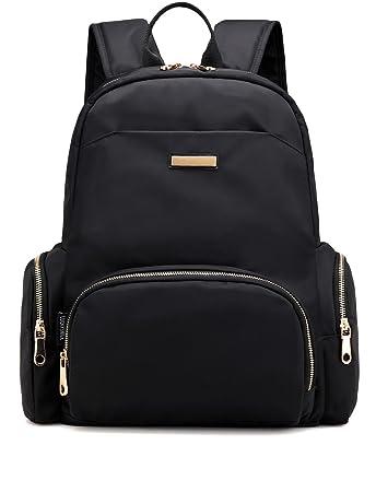 b7cecc371160 Luckysmile Women Girl Casual Nylon Backpack Purse Travel Work College  School Bag  Amazon.in  Bags